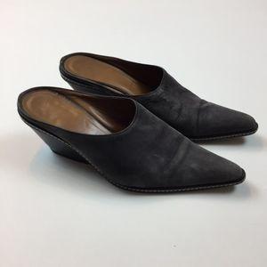 Donald J Pliner Pointed Toe Clog Shoes 8 M